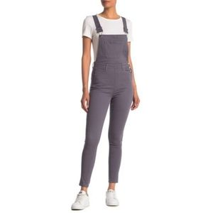 🆕 WE WORE WHAT High Rise Skinny Overalls S